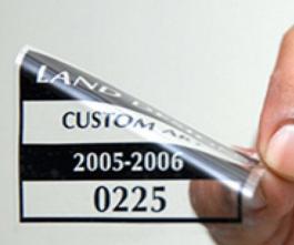 ELETROSTÁTICO TRANSPARENTE Sem Branco  4x0 Impressão Uv