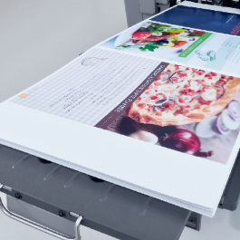 Folha Impressão Laser Papel Adesivo 31x46 4x0 cores Colacril Sem refile