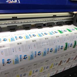 Impressão Solvente Fornecido Pelo cliente com corte