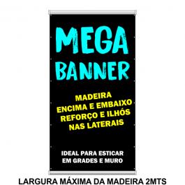 Mega Banner Madeira e Reforço